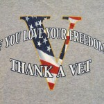 If you love your freedom, thank a vet!